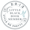 2012 Little Black Book Member - Style Me Pretty