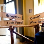 Crab Feed Signs, Sarah Peet Photography