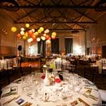 Colorful Paper Lanterns Over Dance Floor, Sabine Scherer
