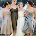 And Something Blue Bridesmaid Dresses (Photo by Gertrude and Mabel)