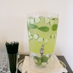 Cucumber Basil Soda, by Cavallo Point